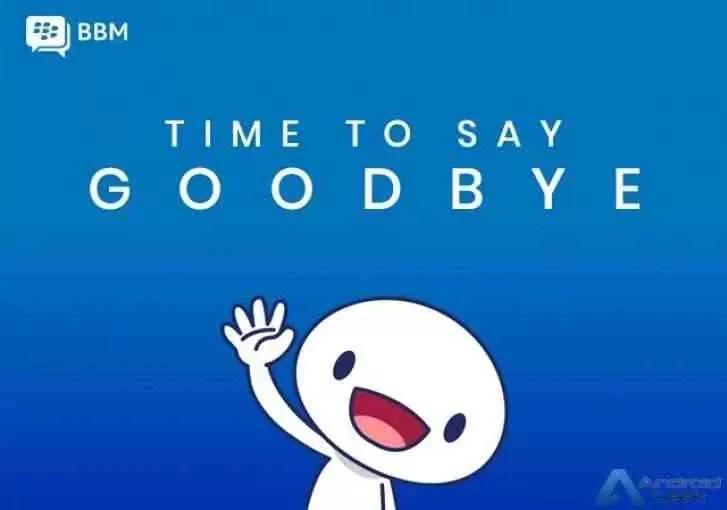 BlackBerry Messenger será descontinuado em 31 de maio 1