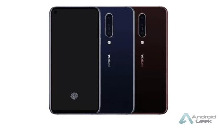 Design do Nokia 8.1 Plus revelado através da TENAA 1