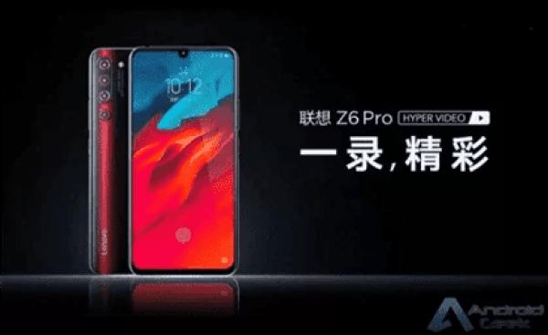 Especificações e recursos do Lenovo Z6 Pro revelados oficialmente 1
