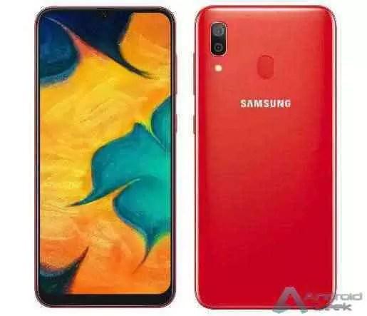 Galaxy A30 tem uma nova opção de cor: RED 1