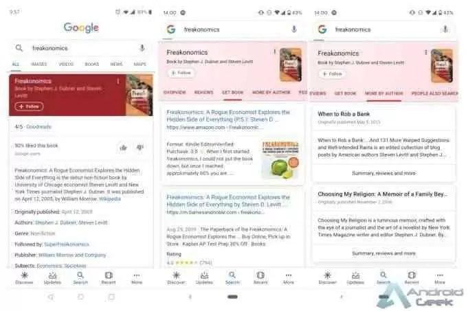 Google continua a melhorar os cartões de resultados de pesquisa 3