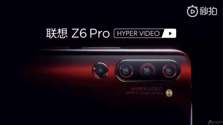 Lenovo Z6 Pro. 3 é demais? Z6 Pro virá com câmaras traseiras quadruplas 1