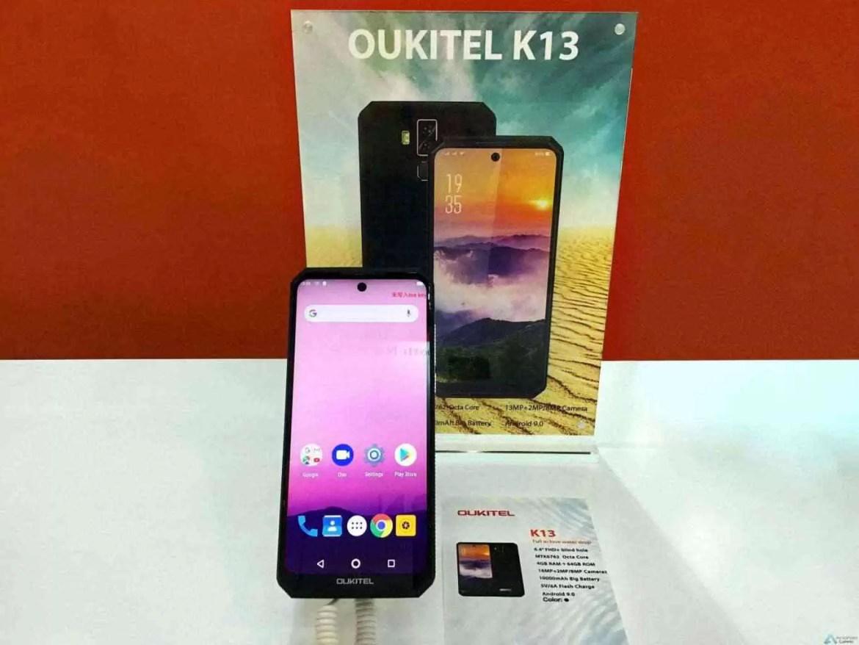 OUKITEL apresenta 3 Grandes Smartphones de Bateria e ecrã gigantes na Exposição Global de Eletrónica 4