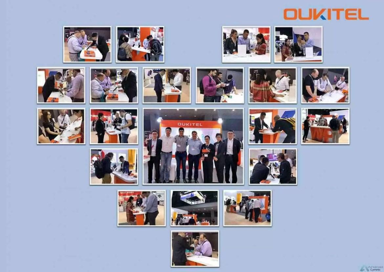 OUKITEL apresenta 3 Grandes Smartphones de Bateria e ecrã gigantes na Exposição Global de Eletrónica 1