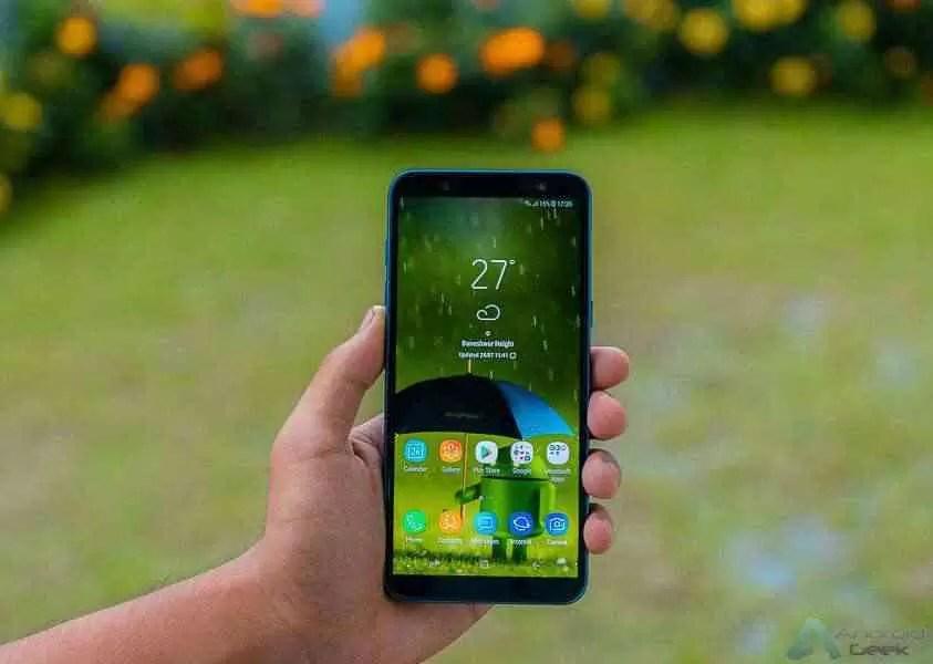 Samsung Galaxy J8 recebe atualização Android Pie 1
