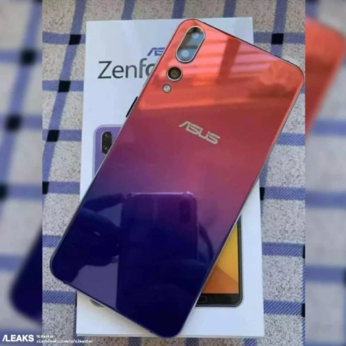 ASUS ZenFone 6 live photo