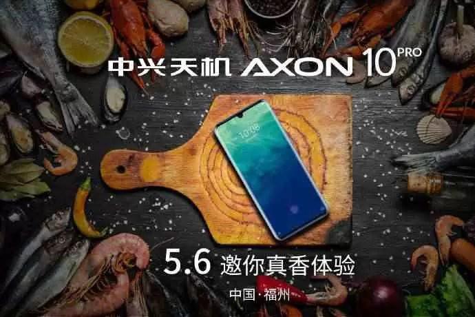 Data de lançamento do Axon 10 Pro 5G