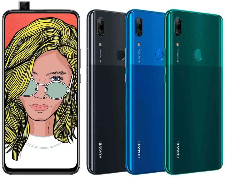 Huawei P Smart Z Renders de Evleaks