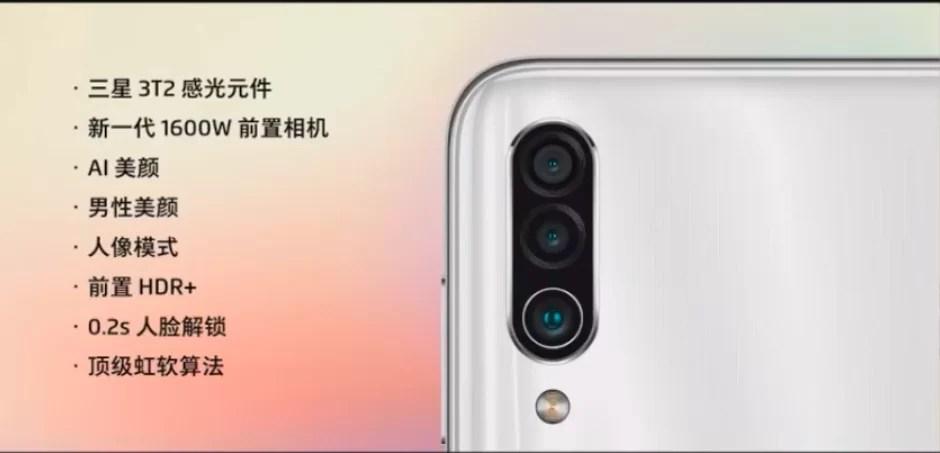 Meizu 16XS Camera Chinês