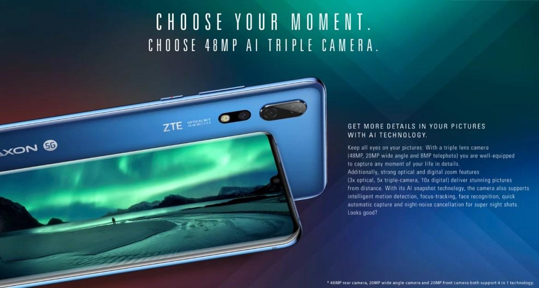 ZTE Axon 10 Pro Camera