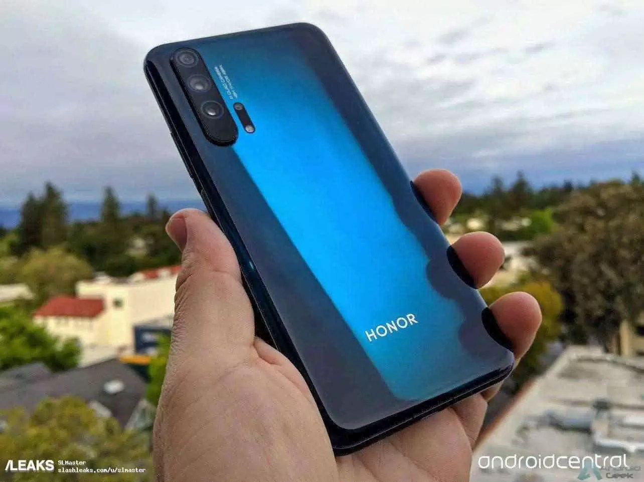 Honor 20 (Imagens Android Central)