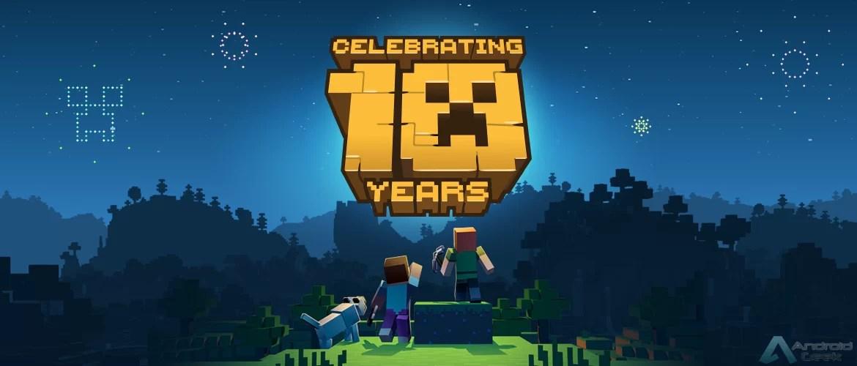 Minecraft celebra 10º aniversário com lançamento de jogo mobile com Realidade Aumentada 1