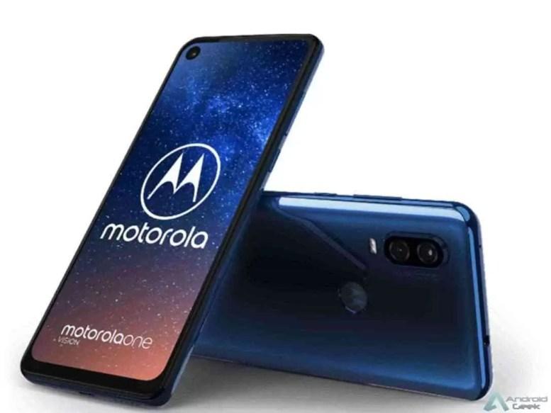Motorola One Vision Renders Oficiais