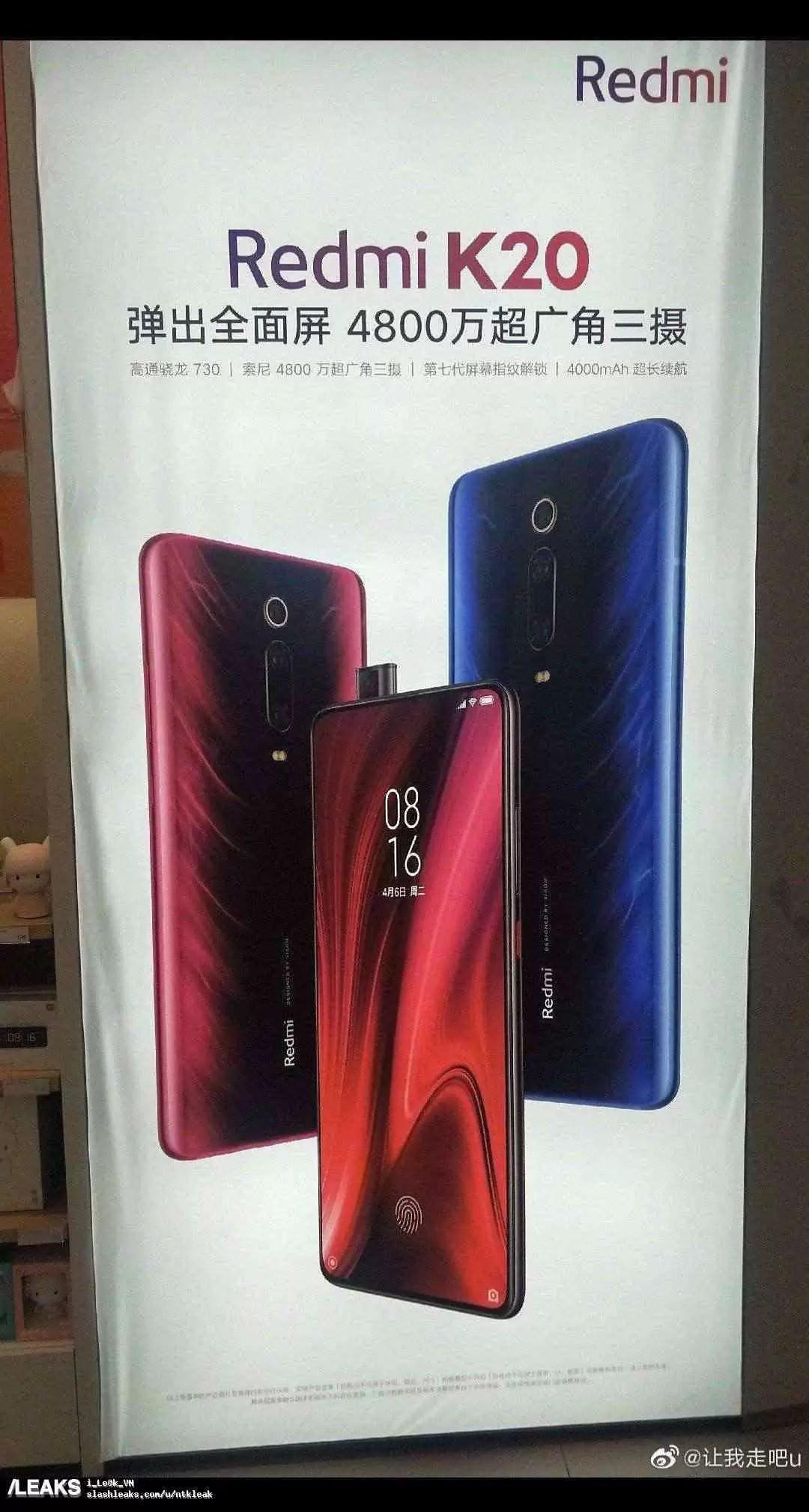 img Redmi K20 Snapdragon 730 poster