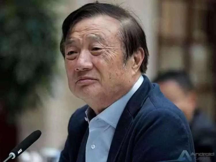 Ren Zhengfei: Huawei está atualmente muito à frente dos Estados Unidos 1