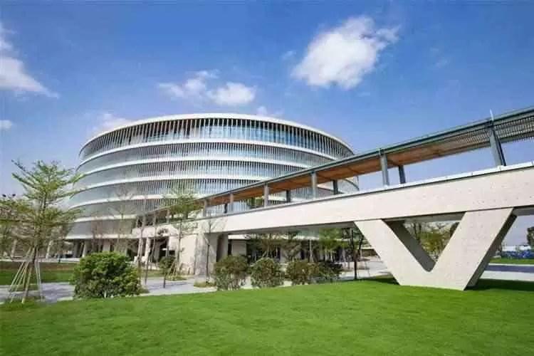 O parque industrial e nova sede da Vivo na china, está concluído 2