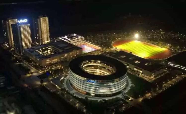 O parque industrial e nova sede da Vivo na china, está concluído 9