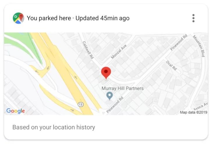 O Google Assistant pode lembrar-nos automaticamente onde estacionamos 2