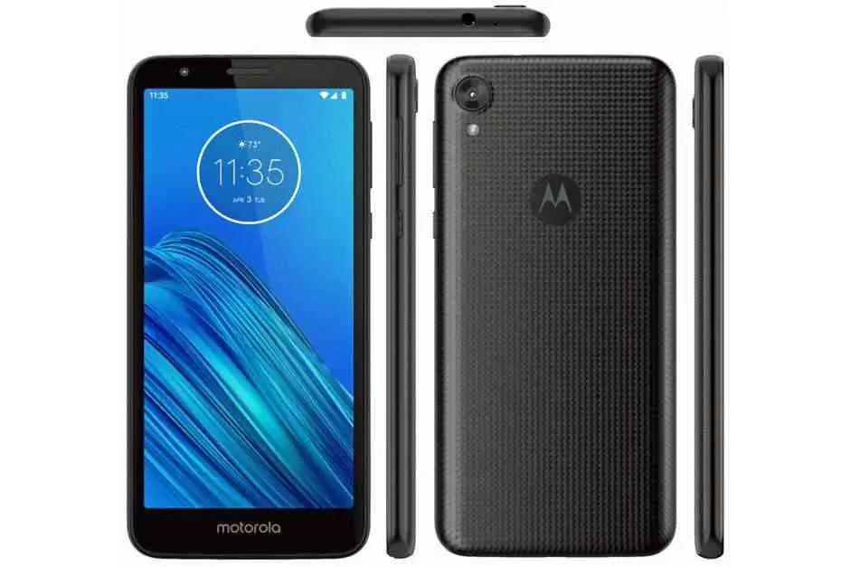 Motorola Moto E6 render
