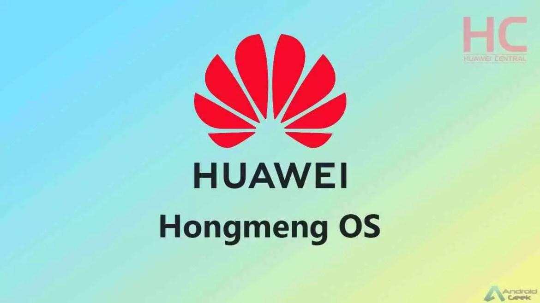 A substituição do Android na Huawei tem um nome: Hongmeng OS