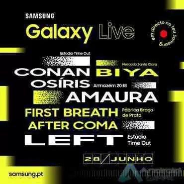 Samsung apresenta 2ª Edição do festival Galaxy Live 1