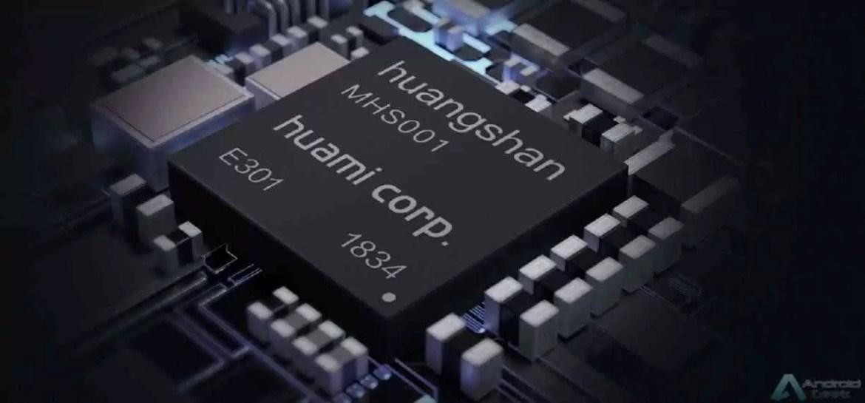 Chipset Wearable de Huangshan no. 1 AI