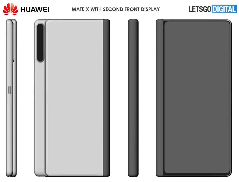 Huawei Mate X 2 smartphone dobrável