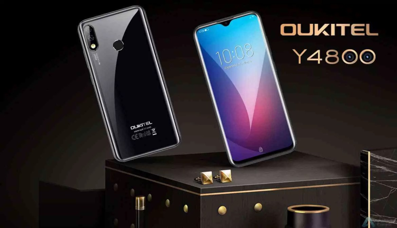 OUKITEL Y4800 VS Redmi Note 7 Pro Hands On, pré-venda vai começar a partir de 22 de julho na Banggood 1