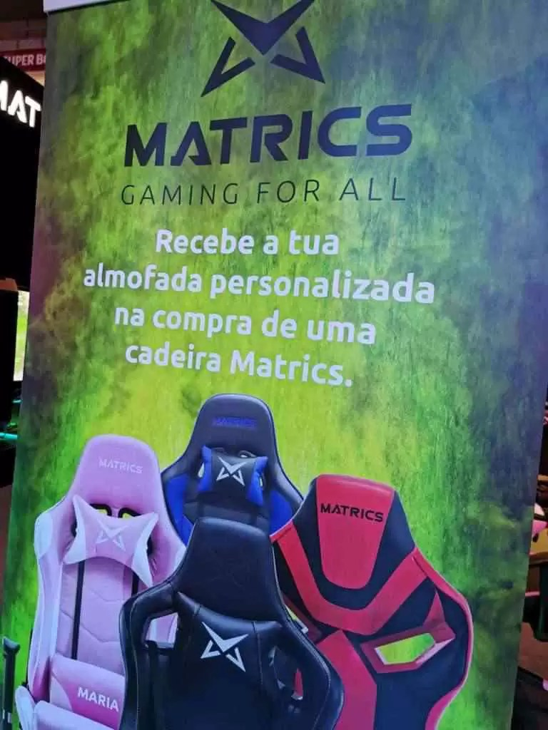 Pro Gaming Chair THRONE da MATRICS pode ser o que vos faltava para chegar mais longe 2
