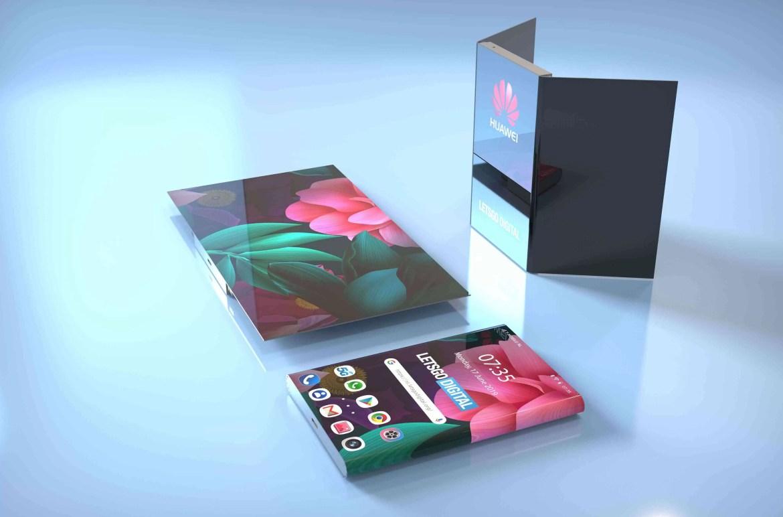 Patente de Smartphone Dobrável da Huawei