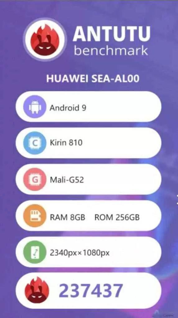 Huawei nova 5 passa no Antutu, Kirin 810 supera Snapdragon 730 1