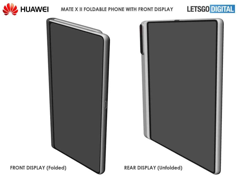Telefone dobrável Huawei