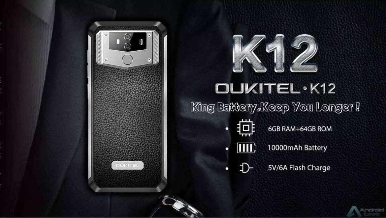 OUKITEL K12 está em Flash Sale por US $ 239,99 com 6GB de RAM e bateria de 10000mAh 1
