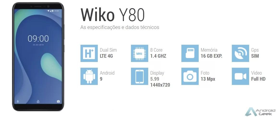 Análise ao Wiko Y80, pronto para o verão 2