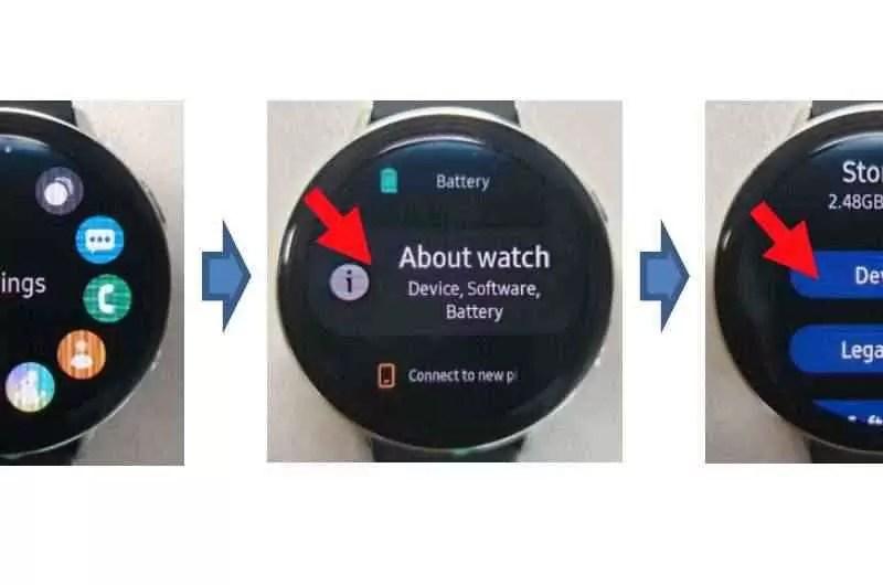 Aqui está o Galaxy Watch Active 2 1
