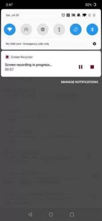 OnePlus Screen Recorder adiciona novidades na v2.2 [APK Download] 3