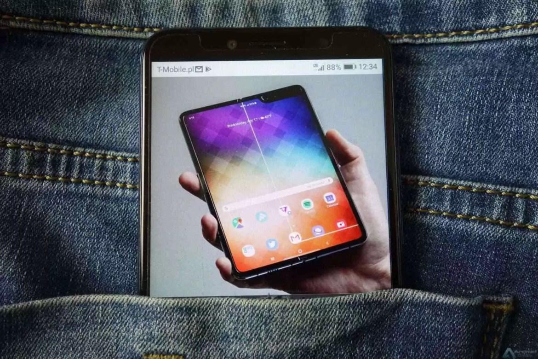 A Samsung pode ter completado o 'redesign' do Galaxy Fold, nova data de lançamento permanece secreta 1