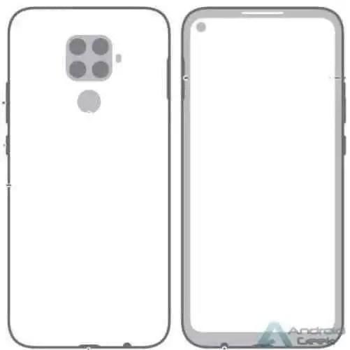 Huawei Mate 30 Lite Design