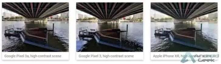 O Google Pixel 3a recebe 100 pontos no DxOMark, comparável ao Pixel 3 e ao iPhone XR