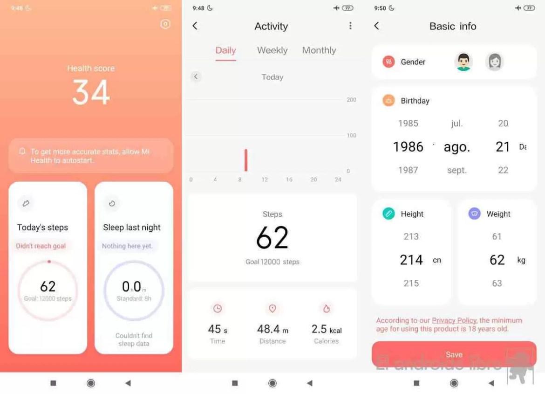 Baixe o novo aplicativo de saúde Xiaomi: Mi Health (APK)