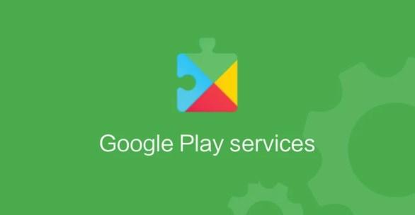 Logotipo do Google Play Services em destaque