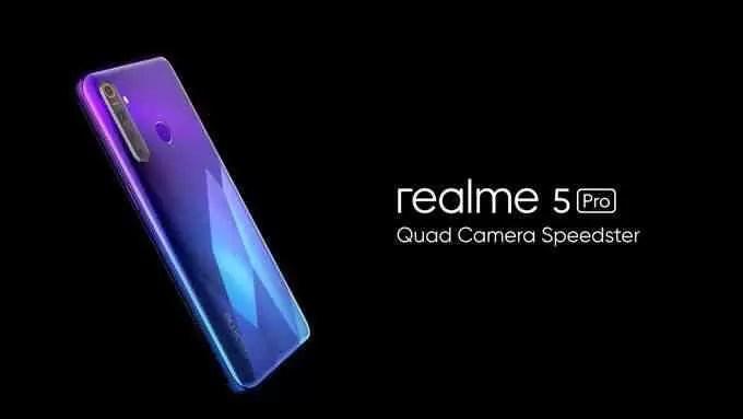Realme 5 e Realme 5 Pro revelados na Índia; Especificações, características e preços 1