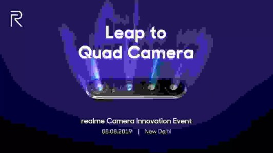 Câmeras Realme 64MP QUAD