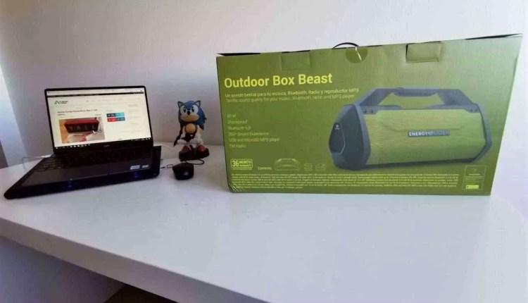Análise Energy Sistem Outdoor Box Beast - Uma verdadeira Besta de coluna portátil 2