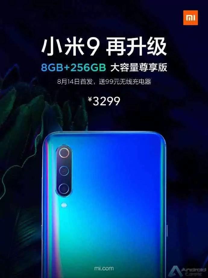 Xiaomi Mi 9 8 GB + 256 GB