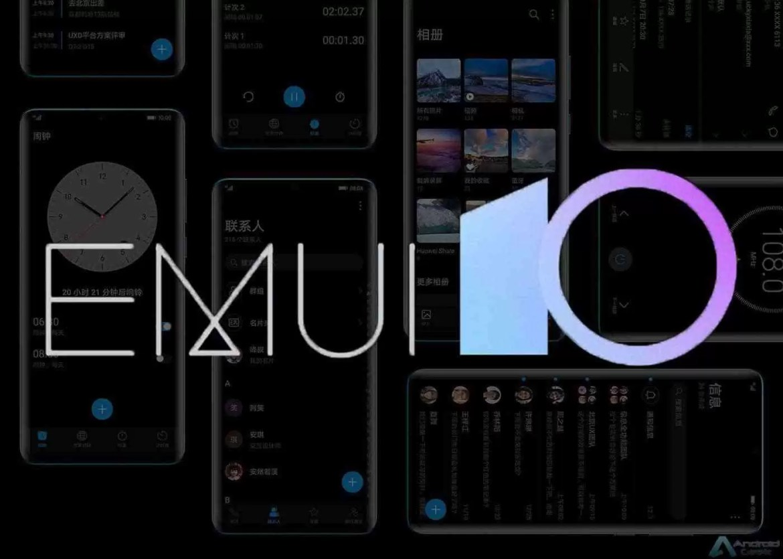 Teste beta EMUI 10 para Mate 20 Lite, Huawei Enjoy 10 Plus e Nova 4e já teve início 1