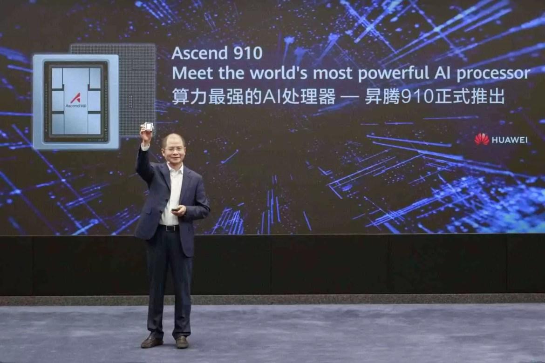 Huawei lança processador de Inteligência Artificial mais potente do mundo e framework IA para todos os cenários 1