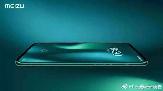 Presidente Meizu volta a mostrar o Meizu 16s Pro na rede social chinesa Weibo 1