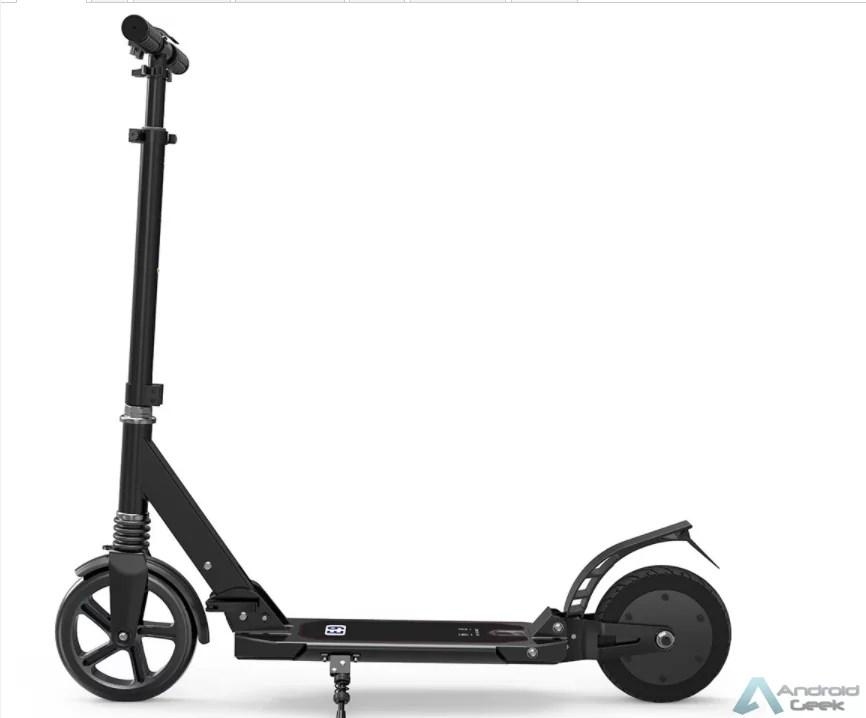 Querem uma trotinete eléctrica por menos de 140€? Vejam a E9 8inch Electric Scooter 4
