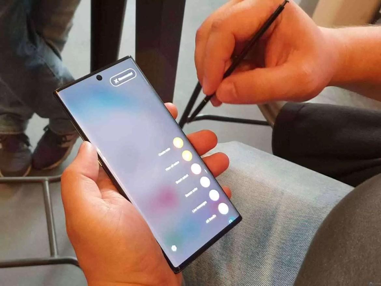 Análise Samsung Galaxy Note 10 Plus. Pacote completo do melhor que a indústria tem 19